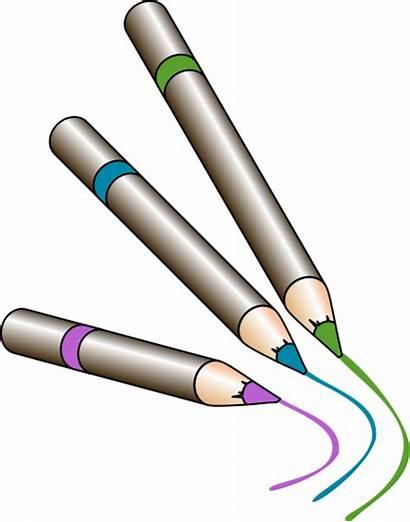 Pencils Colored Clipart Clipartpanda Clip Terms