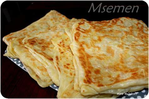 food inspiration la recette des msemen avec astuce et