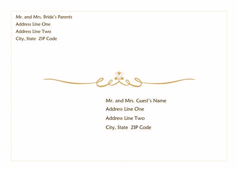 a 7 envelope download wedding invitation envelope scroll design