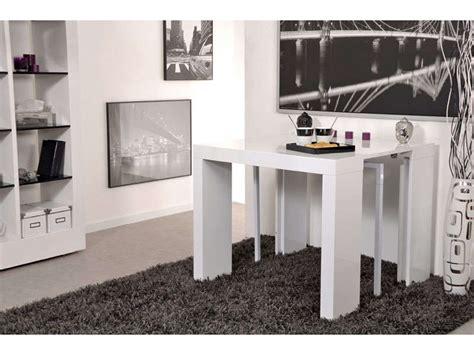 cuisine encastrable conforama table console extensible alinea