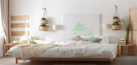 minimalist bedroom decor for relaxation without dullness