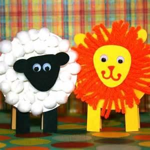 Lion and Lamb Crafts Preschool