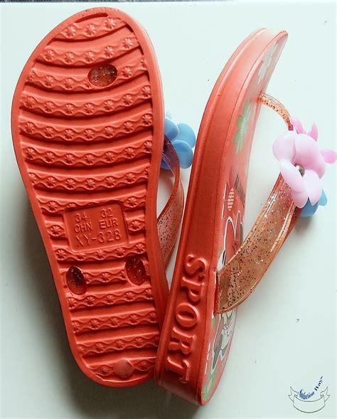 jual sandal wanita sendal anak perempuan sandal jepit karet minnie mouse cantik di lapak