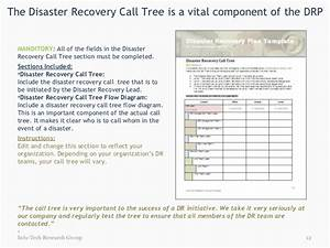 document the drp now With bcp call tree template