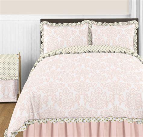 gold polka dot comforter blush pink gold and white amelia 3pc 3857
