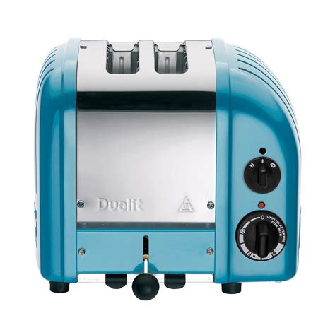 blue toasters dualit new 2 slice azure blue toaster 27167 the home