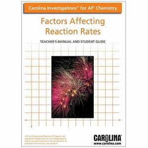 Carolina Investigations U00ae For Ap U00ae Chemistry  Factors