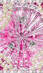 Pink Pearls Diamond Background Picture #102235913 ...