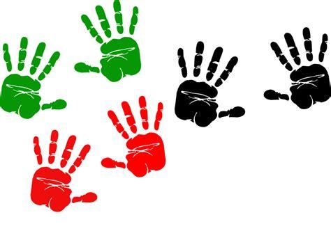 Handprints, Colors, Paint, Symbol