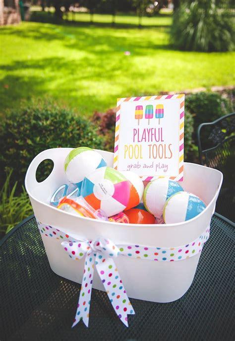 Kara's Party Ideas Birthday Popsicle Pool Party Kara's