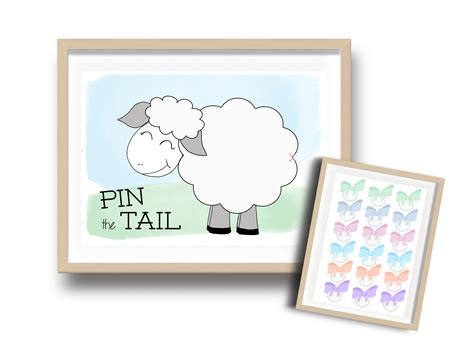 Pin The Tail On The Sheep  Muslim Kids Guide
