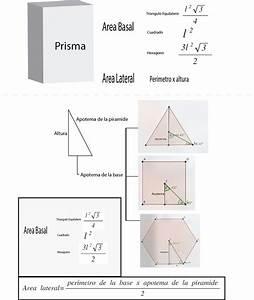 Grundfläche Berechnen Prisma : como encontrar el area lateral y basal de un prisma y de una piramide para el apotema de la ~ Themetempest.com Abrechnung