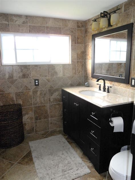 Bathrooms With Bronze Fixtures by Decorating Addiction Finished Bathroom