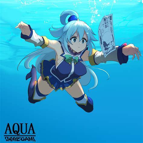 How to fish Aqua 101 : Konosuba