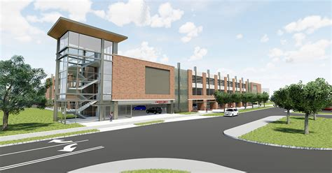 Gateway East Parking Garage by Board Approves New Parking Garage More Green Space On