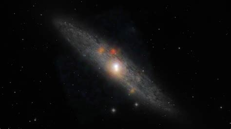 Black hole naps amidst stellar chaos