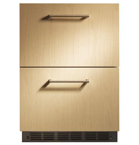 zidibii ge monogram double drawer refrigerator module  monogram collection