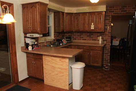 vinyl brick wallpaper   kitchen traditional