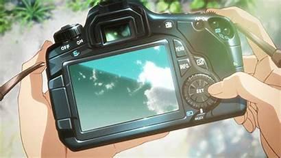 Anime Camera Aesthetic Things Kawaii Shirabu Gakuen
