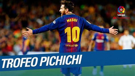 Lionel Messi - Trofeo Pichichi LaLiga Santander 2017/2018 ...
