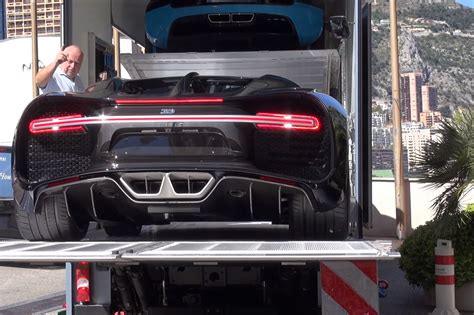Made a video explaining why an oil change on a bugatti veyron costs this much. Video: Brand New Bugatti Chiron Getting Unloaded In Monaco!