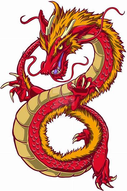 Dragon Chinese Background Deviantart Clipart Dragons Clip