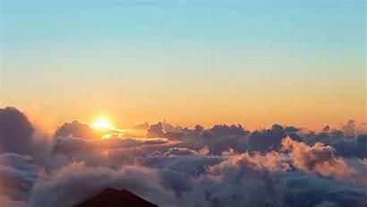 Sunrise Sun Sky Clouds 4k Widescreen Uhd