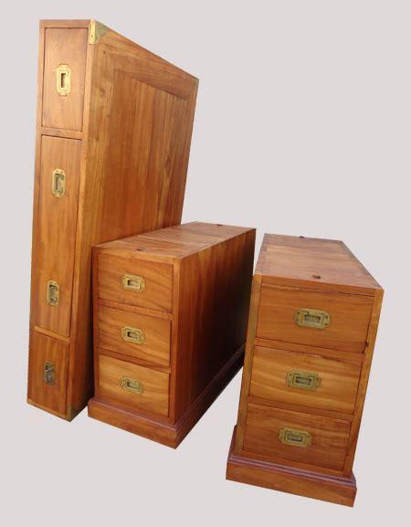 caisson de bureau caisson de bureau en teck