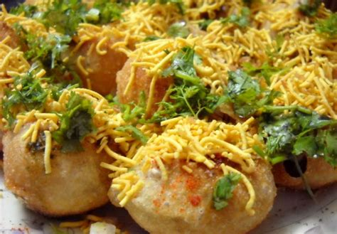 indian canapes ideas sev puri indian canape by foodpassion