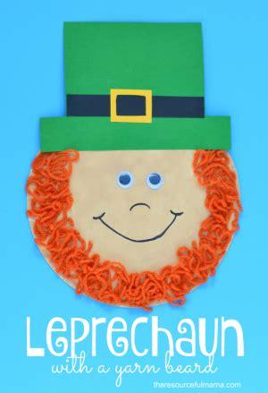 st patricks day leprechaun craft  kids