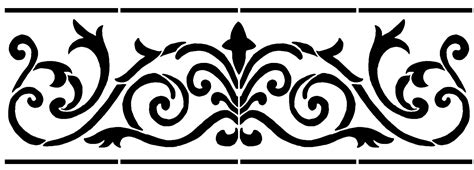 stenciling design border 1 design stencil sp stencils