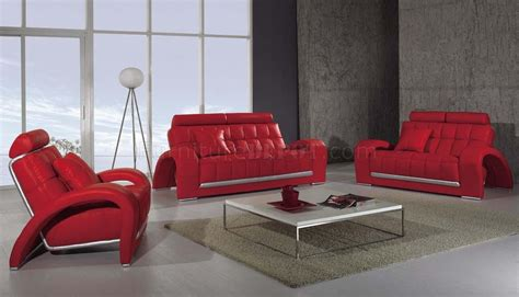 canapé italien poltronesofa modern leather 3 living room set t50