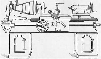 Lathe Engine Machine Lodge Lathes Shipley Swing