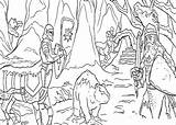 Narnia Coloring Pages Chronicles sketch template