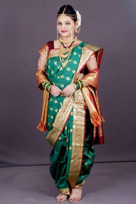 Traditional Saree Draping Styles - 44 best nauvari saree images on indian wear