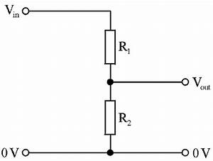 potential divider circuit With voltage divider