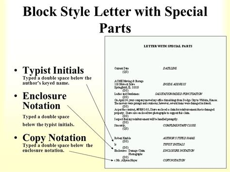 Business letter format with cc spiritdancerdesigns Gallery