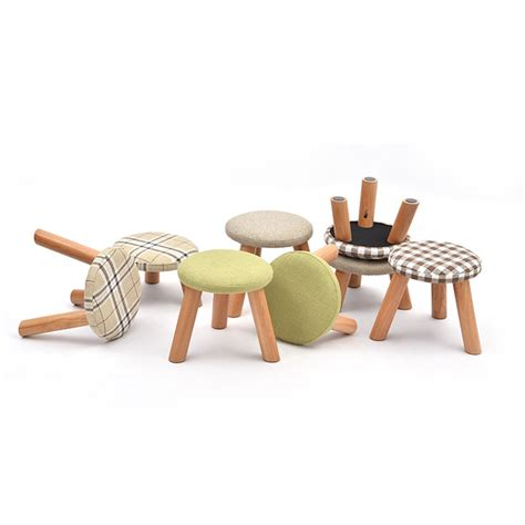 small ottomans and footstools guaranteed 100 small mushrooms stools and ottomans wooden