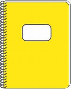 Spiral Notebook Clip Art - Cliparts.co