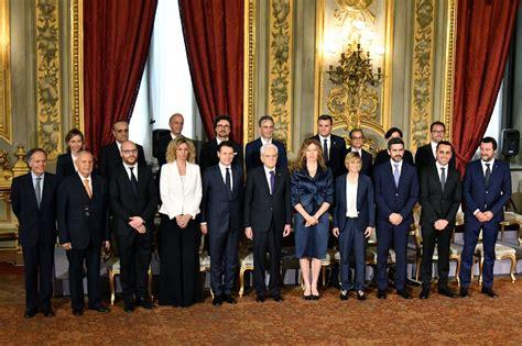 Consiglio Dei Ministri Ultime Notizie by Governo M5s Lega Conte E I Ministri Hanno Giurato Diretta