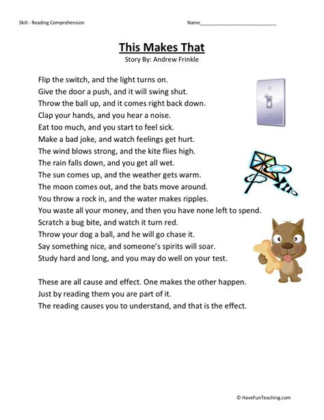 2nd grade reading comprehension worksheets search