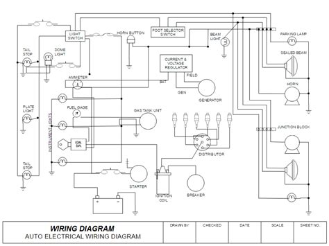 How Draw Electrical Diagrams Wiring