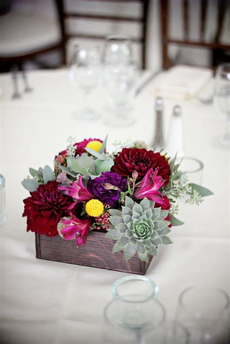 table centerpieces using photos contemporary wedding table accessories and decoration