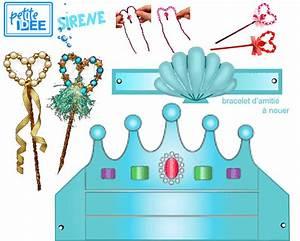 Decoration Theme Mer A Faire Soi Meme : fete a theme petite sirene et ondins 1 et 2 et 3 doudous patrons patterns gabarits fete ~ Preciouscoupons.com Idées de Décoration