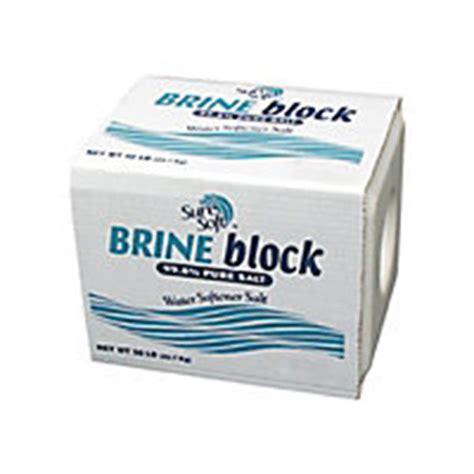 salt brine sure soft brine block midwest salt