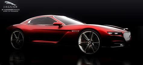 jaguar e type concept check out this stunning new jaguar e type concept