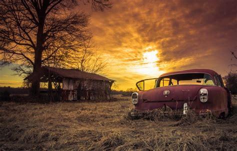 Abandoned Cars Wallpaper Wallpapersafari