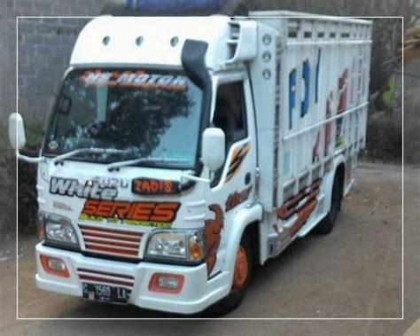 foto modifikasi truk canter terbaru hino ragasa fuso dutro