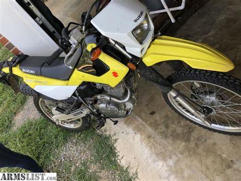 Suzuki Dr 200 For Sale by Armslist For Sale Suzuki Dr 200 S Dual Sport