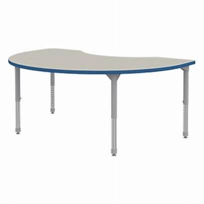 Kidney Table Clipart Tables Classroom Shape Artcobell